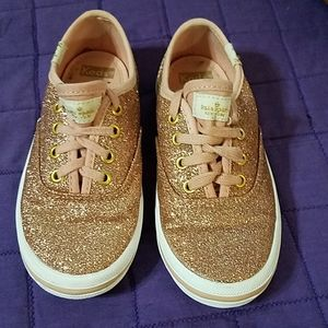 Keds for Kate Spade Pink Glitter